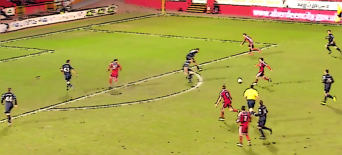 Goodwillie goal v Ross County