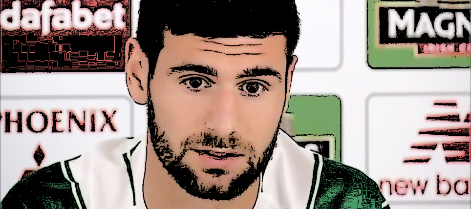 Nadir Ciftci faces the media after signing from Dundee United