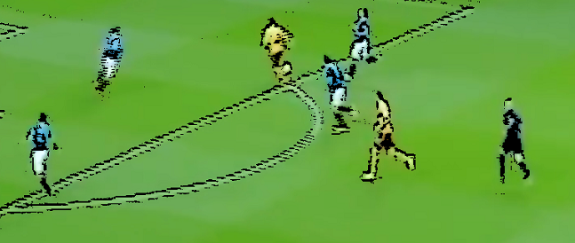 Lionel Ainsworth scores to make it 3-0 at Ibrox