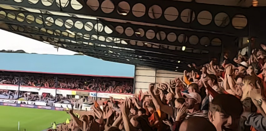 celebrating united fans